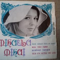 Mihaela mihai vinyl disc single pop muzica usoara daca iubesti fara sa speri - Muzica Pop electrecord, VINIL