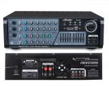 STATIE AMPLIFICARE KARAOKE 130 WATT,MIXER ,EFECTE VOCE,INT,MICROFOANE,MP3 USB.
