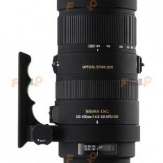 Sigma 120-400 f4, 5-5, 6 APO HSM DG montura Canon EF/EF-S - Obiectiv DSLR Sigma, Tele, Autofocus, Stabilizare de imagine