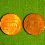 SUA / Statele Unite 1 cent ani diferiti  pentru colectie - 5 bucati, America de Nord