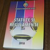 FEDERATIA ROMANA DE FOTBAL - STATUTE SI REGULAMENTE 2010