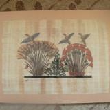 TABLOU - PICTURA PE PAPIRUS, SEMNATA - Pictor strain
