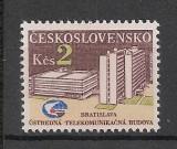 Cehoslovacia.1984 Sediul Central al Comunicatiilor Bratislava  SC.896