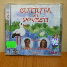 CUTIUTA CU POVESTI  (CD) SIGILAT!!!