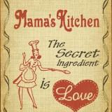Reclama vintage - MAMA`S KITCHEN