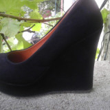 Vand pantofi negrii - Pantof dama, Culoare: Negru, Negru