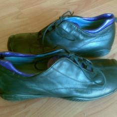 Pantofi mocasini din piele marimea 38, sunt noi! - Mocasini dama, Culoare: Negru