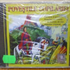 POVESTILE COPILARIEI - PRASLEA CEL VOINIC SI MERELE DE AUR, ALEODOR IMPARAT (CD) SIGILAT!!! - Muzica pentru copii