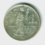 1 LEU 1912 STARE EXCELENTA