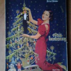 Revista magazin maghiara Szinhazi Elet numar special Karacsony Craciun 1933 peste 100 ilustratii foto clisee reclame de epoca interbelica Ungaria