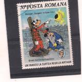 No(2)timbre-Romania 1986-1153-L.P.-WALT DISNEY II-deparaiate