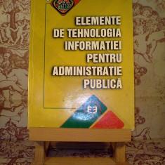 Elemente de tehnologia informatiei pentru administratie publica - Carte de vanzari