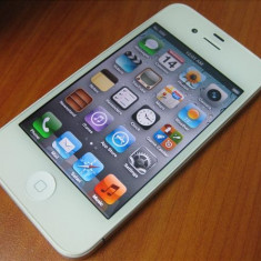 iPhone 4 Apple white neverlock impecabil!, Alb, 8GB, Neblocat