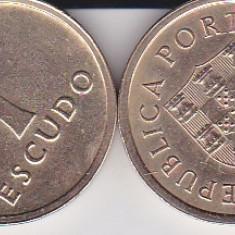 PORTUGALIA 1 ESCUDO 1985, Europa