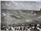 Foto-carte postala 1962- stadion fotbal-Messestadt Leipzig-stadion der Hunderttausend