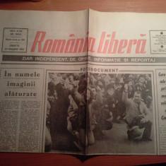 Ziarul romania libera 20 ianuarie 1990 (revolutia )