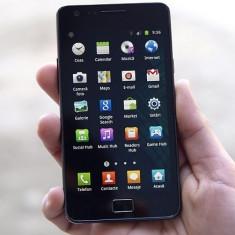 Samsung Galaxy S2 - Telefon mobil Samsung Galaxy S2, Negru, 16GB, Neblocat