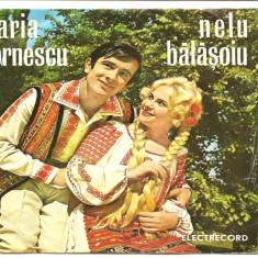 Maria Cornescu si Nelu Balasoiu vinil vinyl single ep - Muzica Populara