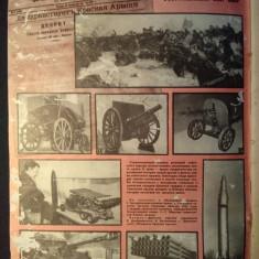 Revista Ruseasca - Nr. 2 / 1988 ( contine fotografii si schite cu tancuri )