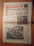 ziarul flacara 22 iulie 1983-18 ani de cand ceausescu est prim secretar al PCR
