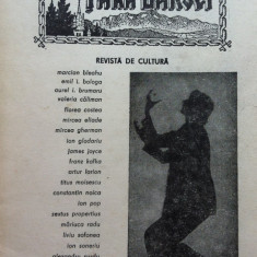 TARA BARSEI REVISTA DE CULTURA (1990, Nr.1) - Almanah