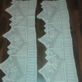 DANTELA TRADITIONALA, LUCRATA MANUAL, DIN ZONA BUCOVINA - tesatura textila
