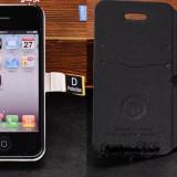 Husa Apple Iphone 4 4G 4S + folie protectie display + stylus