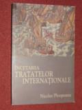 NICOLAE PLOESTEANU - INCETAREA TRATATELOR INTERNATIONALE, Alta editura