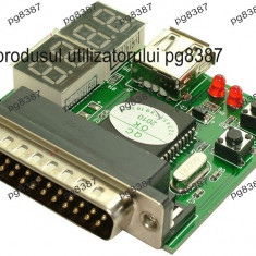 Placa defectiuni PC, debug card, placa diagnoza PC - 130676