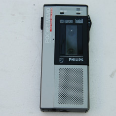 Reportofon Philips Pocket Memo Executive 596, raritate. - Casetofon