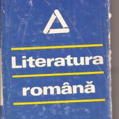 (C4217) LITERATURA ROMANA, DICTIONAR CRONOLOGIC, COORDONATORI: I.C. CHITIMIA SI AL. DIMA, EDITURA STIINTIFICA SI ENCICLOPEDICA, 1979