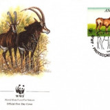 WWF FDC complet serie /4 buc./ 1990 Angola - Antilopa