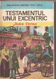 (C4214) TESTAMENTUL UNUI EXCENTRIC DE JULES VERNE, EDITURA ION CREANGA, 1974, TRADUCERE DE TEODORA CRISTEA