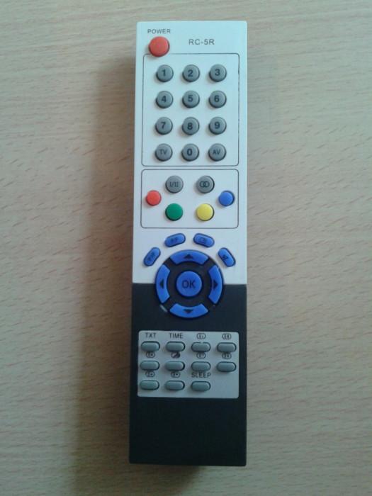 Telecomanda RC5R, RC-5R, CLATRONIC, CORSO, CROWN, CWRTECH, DIGITAL, DURABRAND ,HOMETECH ,MEDION ,NEXIUS, SCHNEIDER, PROVISION, TAURAS, SEITECH, AEG