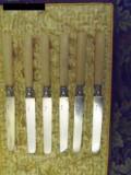 Cutite argint PIERRE QUEILLE 1834, maner fildes cu certificat