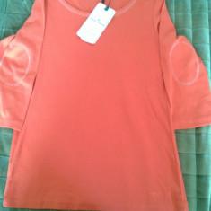 Bluza Tom Tailor dama - Bluza dama Tom Tailor, Marime: L/XL, XXL, Culoare: Alb, Orange, Maneca 3/4, Bumbac