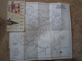 Hunedoara Ghid turistic al regiunii harti ilustrata carte hobby turism harta, Alta editura