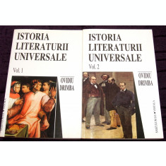 Istoria literaturii universale, 2 volume - Ovidiu Drimba, studii literare, critica literara, editie 2001