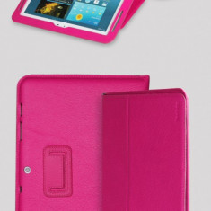 Husa Executive Case Piele Naturala Samsung Galaxy Tab2 P5100 by Yoobao Originala Pink - Husa Tableta