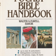 THE SHAW POCKET BIBLE HANDBOOK ( 1984, 400 p. - biblia, biblie, testament, scriptura)