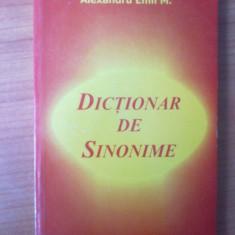 n  ALEXANDRU EMIL M. - DICTIONAR DE SINONIME