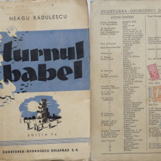 Neagu Radulescu , Turnul Babel , 1944 , boema bucuresteana