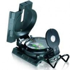 Busola Cu Lupa Discover Lensatic Compass EASYCAMP