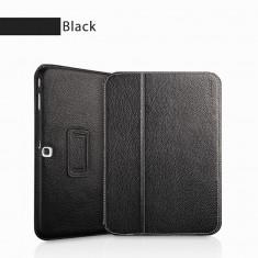 Husa Executive Piele Naturala Samsung Galaxy Tab3 10.1 P5200 by Yoobao Black - Husa Tableta