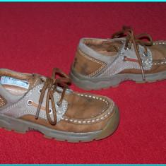 Pantofi din piele, frumosi, bej, marca IMPIDIMPI _ baieti | nr. 26 - Adidasi copii, Piele naturala