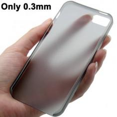 15. Capac husa ultrathin ultraslim ultra subtire iPhone 5, grosime 0, 3 mm + folie protectie CADOU - Husa Telefon Aneon