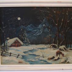 Tablou, pictura ulei pe panza, semnata (2)