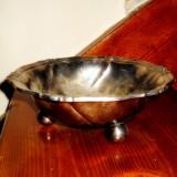 Vas decorativ - fructiera - metal inoxidabil, Vase