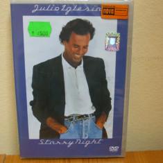 JULIO IGLESIAS - STARRY NIGHT (DVD) (ALVio) SIGILAT!!! - Muzica Pop Columbia