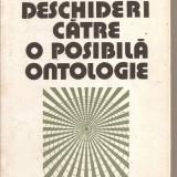 (C4207) DESCHIDERI CATRE O POSIBILA ONTOLOGIE DE GH. VLADUTESCU, EDITURA STIINTIFICA SI ENCICLOPEDICA, 1987, INTERPRETARI LA PRESOCRATICI